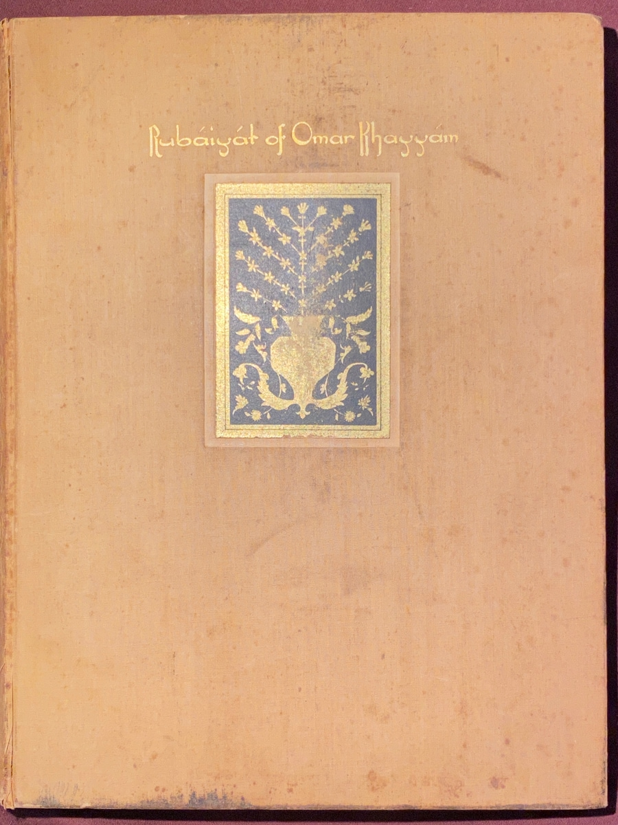 ~1930 Crowell Pogany Peachy/Yellow Cover with Georg Saintsbury Intro
