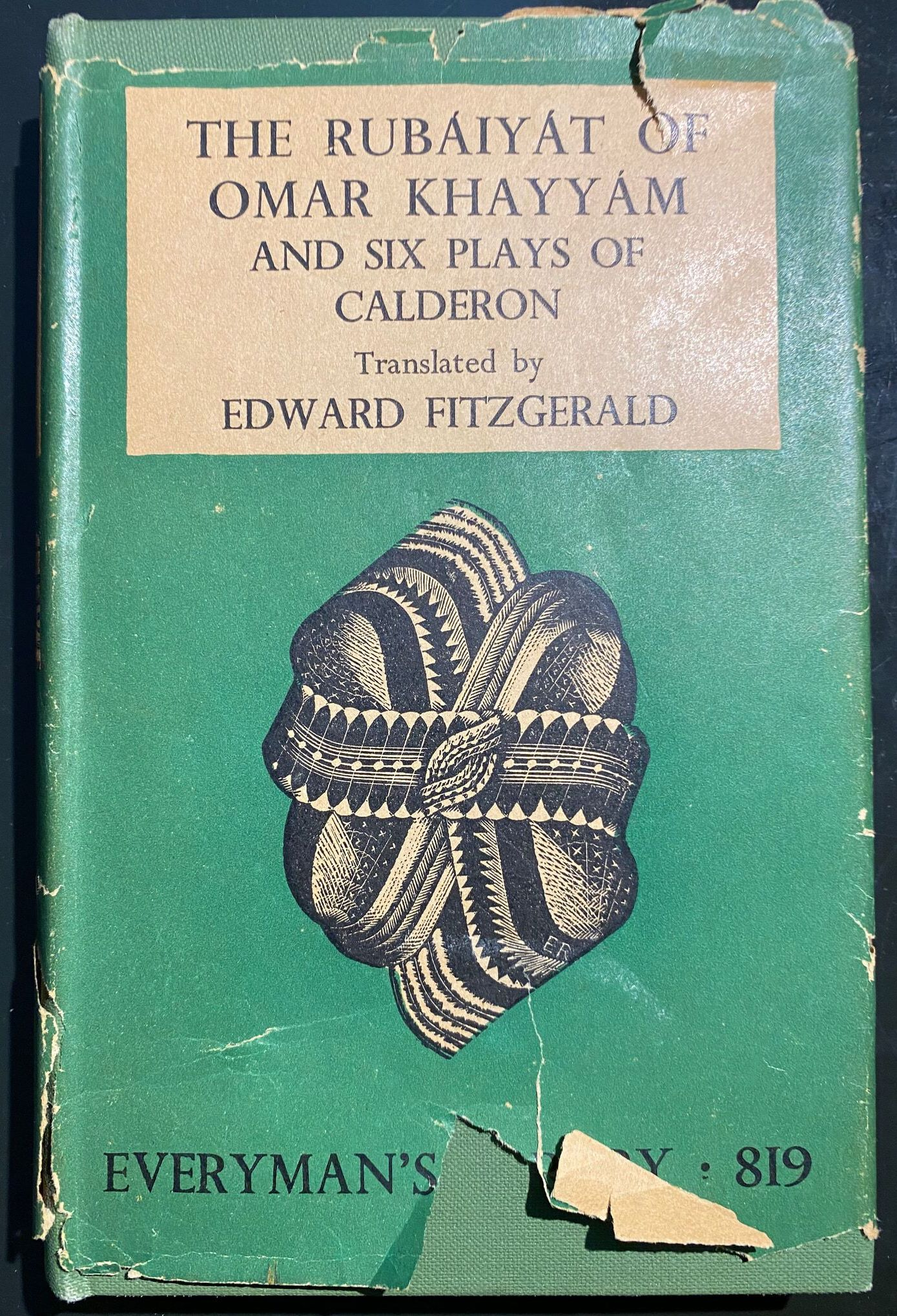1948 Everyman's Library Edition with Six Plays of Calderon